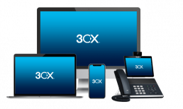 A complete unified communications solution with all the functionality of a traditional PBX.